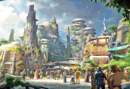 スター・ウォーズ:ギャラクシーズ・エッジ(Star Wars: Galaxy's Edge)のイメージ