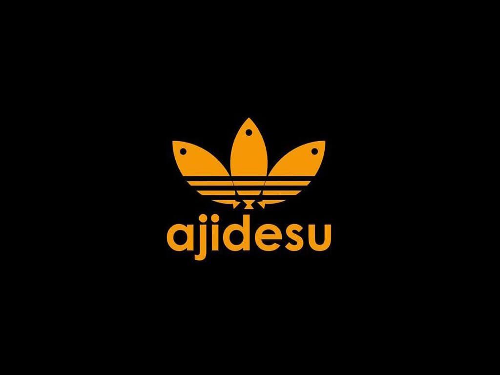 アディダス 偽物ロゴ