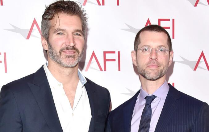 デイヴィッド・ベニオフ(左)&D・B・ワイス(右)