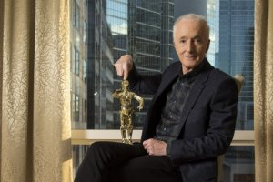 C-3POを演じるアンソニー・ダニエルズ - Bernard Weil / Toronto Star via Getty Images